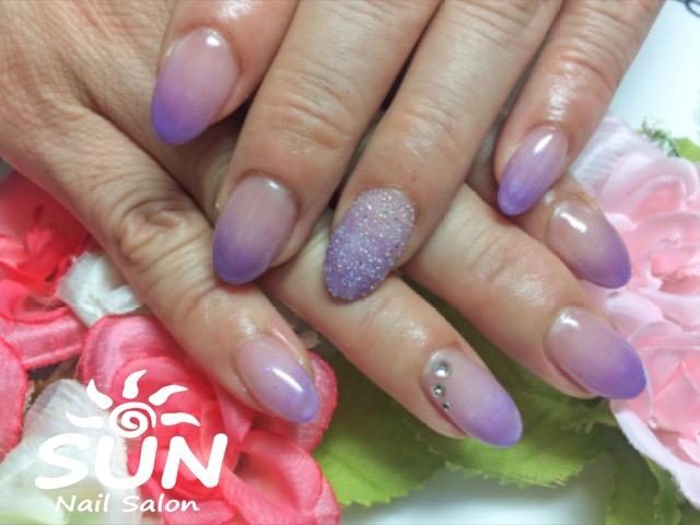 ピクシーネイル×紫