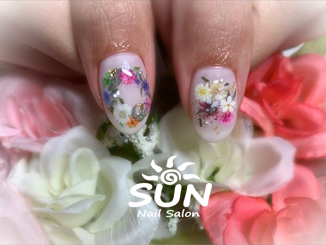 花ネイル2