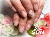 桜ネイル1